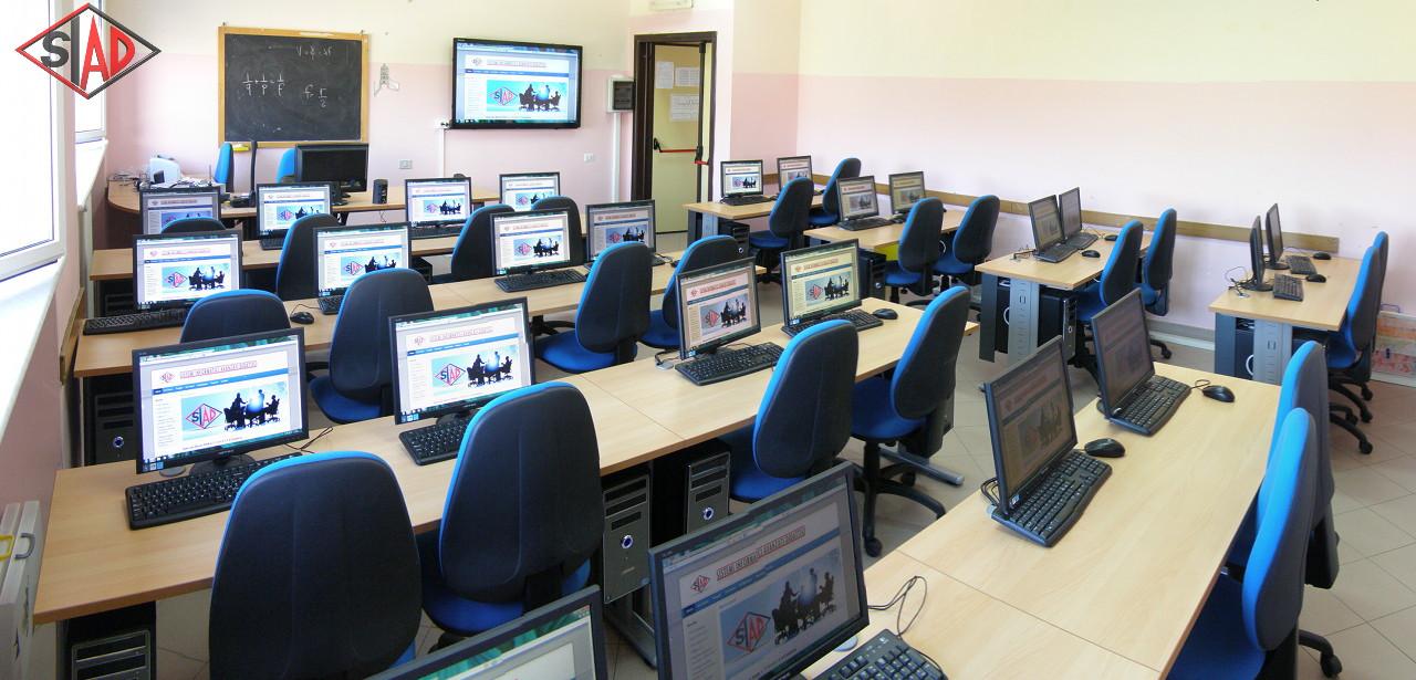 Laboratori multimediali for Arredi laboratorio